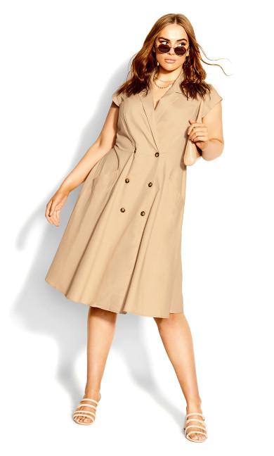 Chic Lafayette Dress - sand