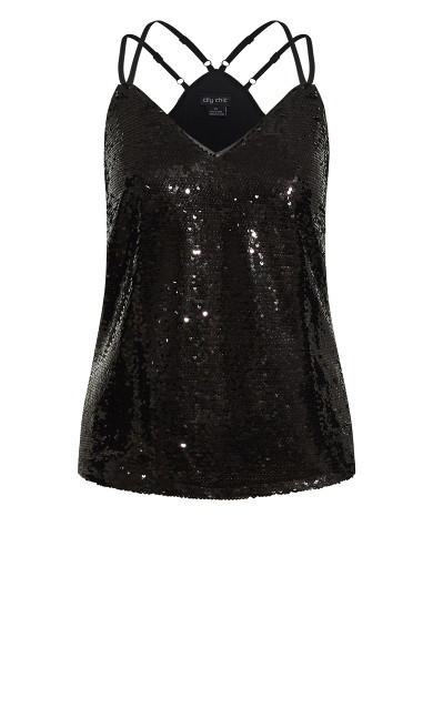 Glimmer Top - black