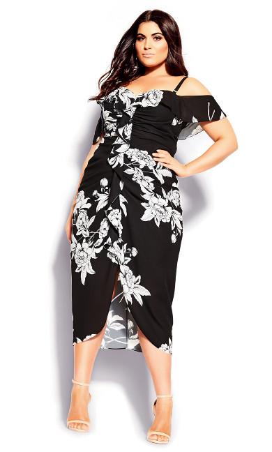 Gabriela Dress - black