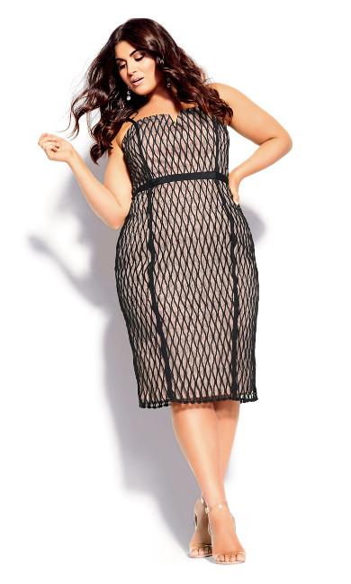 Women's Plus Size Ivanna Dress - black
