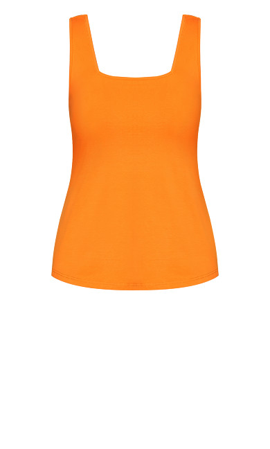 Square Neck Cami - mango