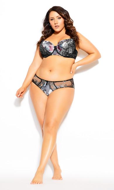 Plus Size Thalia Contour Bra - black