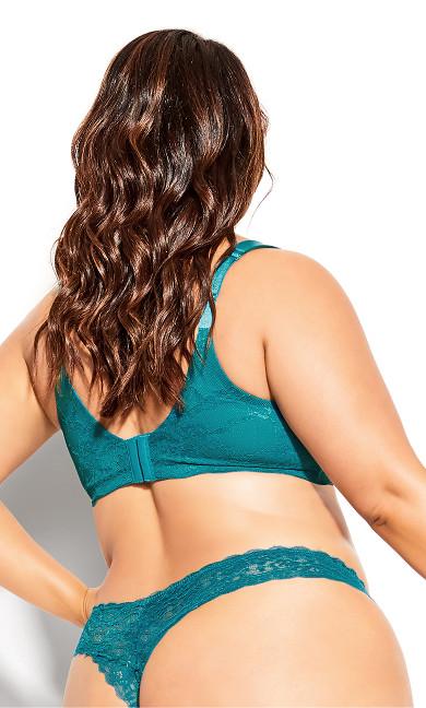 Sexy Glam T-Shirt Bra - emerald