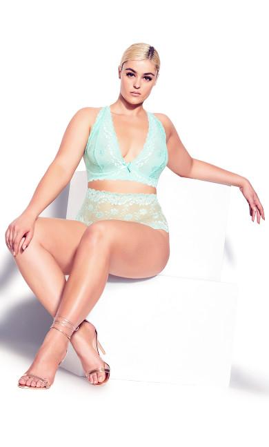 Zoey Bralette - Mint