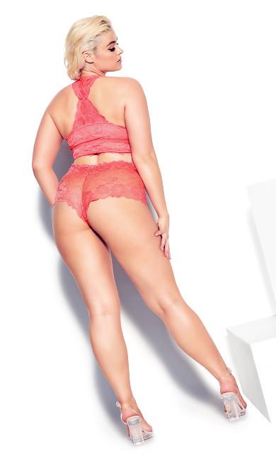 Kira Lace Bralette - melon