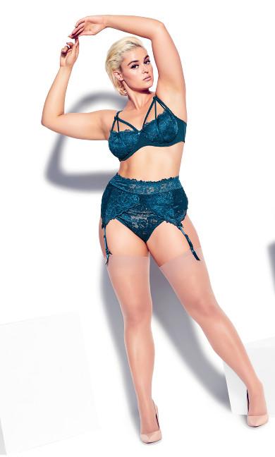Olivia Garter Belt - poseidon