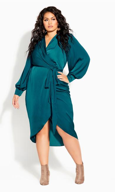 Opulent Dress - teal
