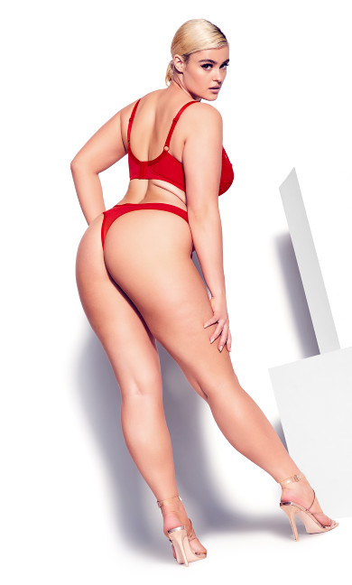 Duet Thong - ruby red