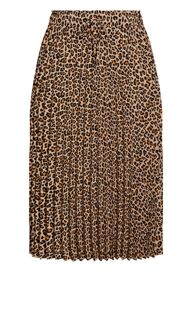 Cheetah Skirt - sand