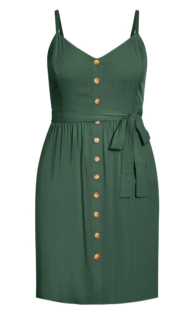 Date Day Dress - jungle