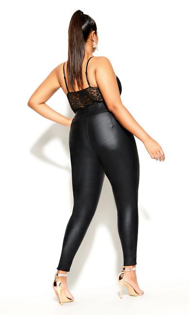 Sassy Lace Bodysuit - black