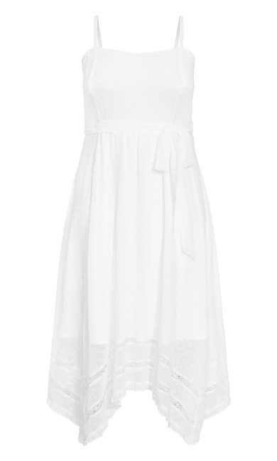 Flirty Nature Dress - ivory