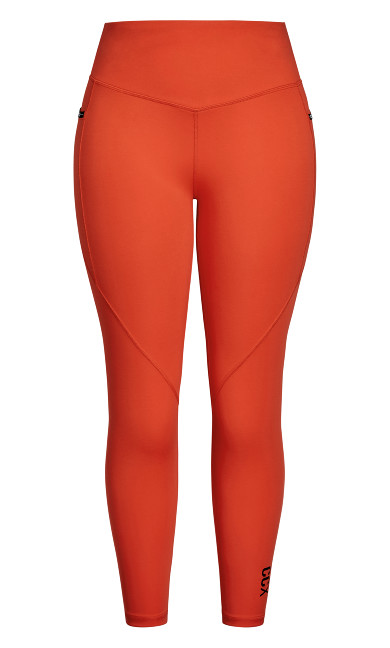 Active 7/8 Legging - chilli