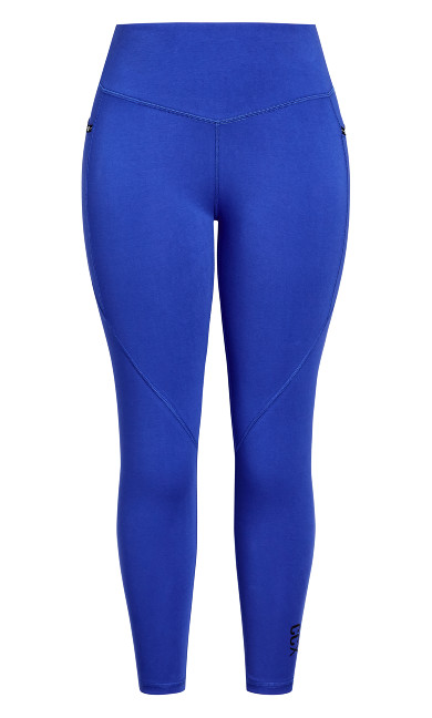 Active 7/8 Legging - royal blue
