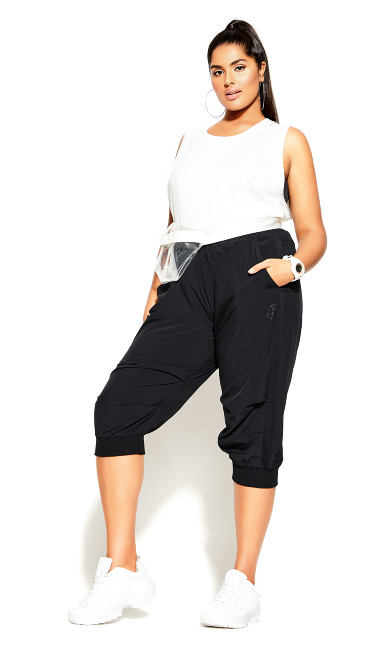 Active Crop Pant - black
