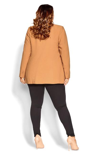 Essence Longline Jacket - bronze