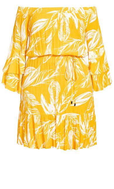 Sunshine Tropical Dress - sunshine