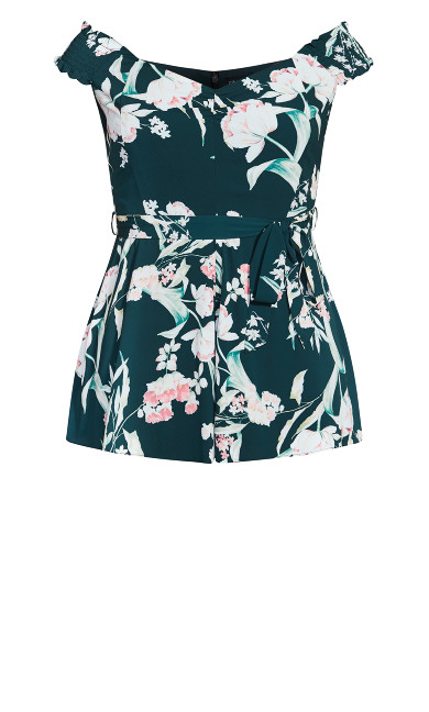Fresh Field Playsuit - jade