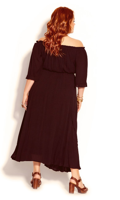 Lost Angel Maxi Dress - black