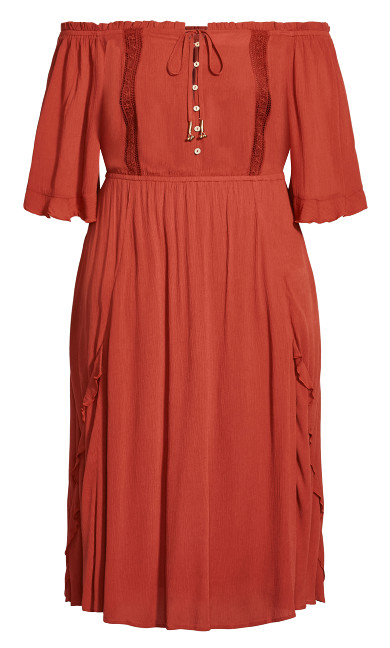 Lost Angel Maxi Dress - bronze