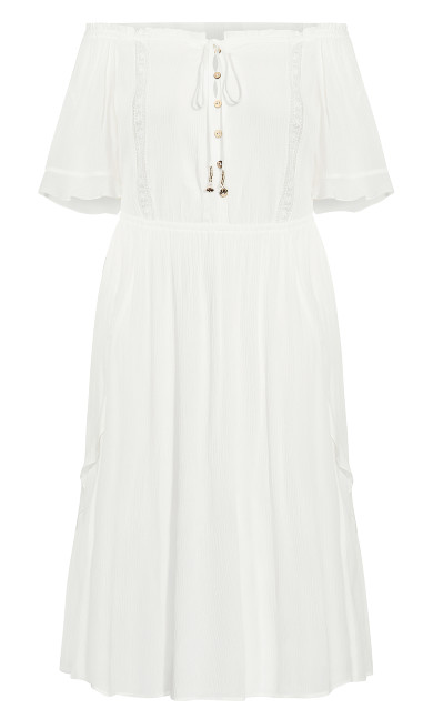 Lost Angel Maxi Dress - ivory