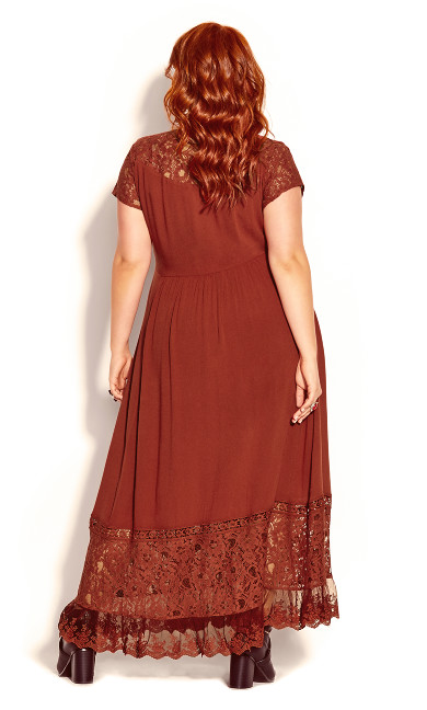 City of Angels Maxi Dress - bronze