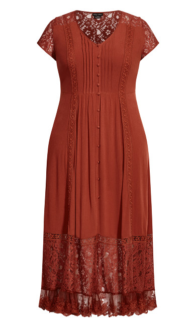 City of Angels Maxi Dress - bronze