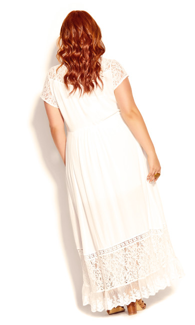 City of Angels Maxi Dress - ivory