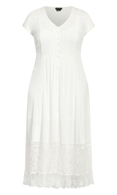 City of Angels Maxi Dress - ivory