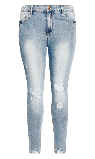 Asha Escape Skinny Jean - denim