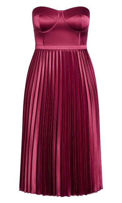 Ahanna Dress - magenta