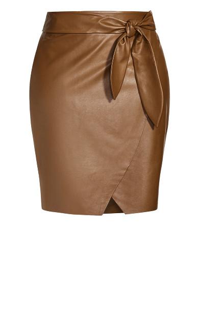 Passion Tie Skirt - pine cone