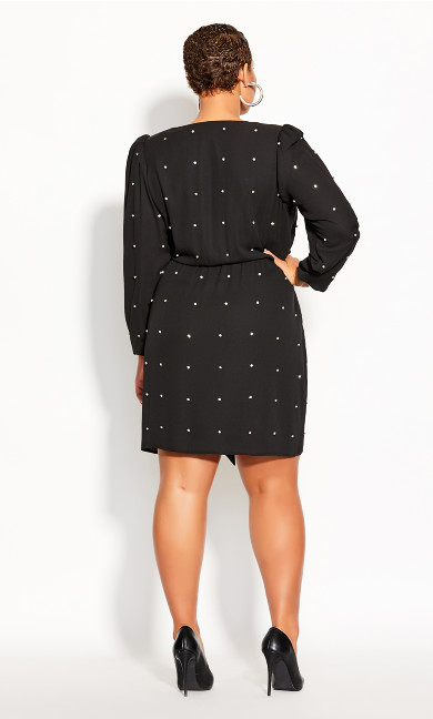 Out All Night Dress - black