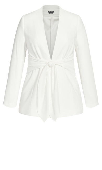 Elegance Jacket - ivory