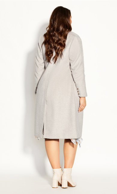 Luxe Lover Wool Blend Coat - beige