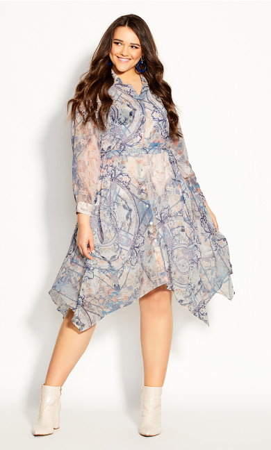 Plus Size Gesu Dress - ivory