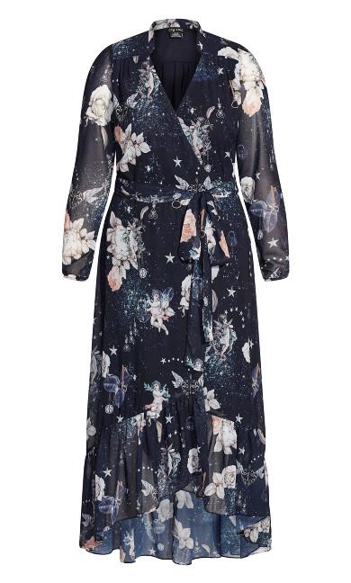 Divinity Maxi Dress - navy