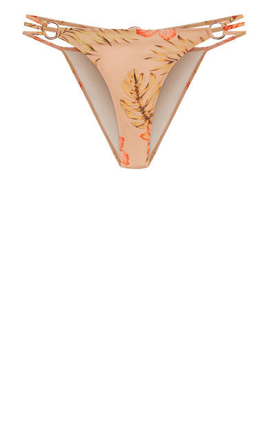Amara Bikini Pant - coral