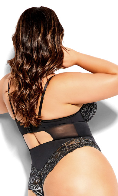 Alexis Bodysuit - black