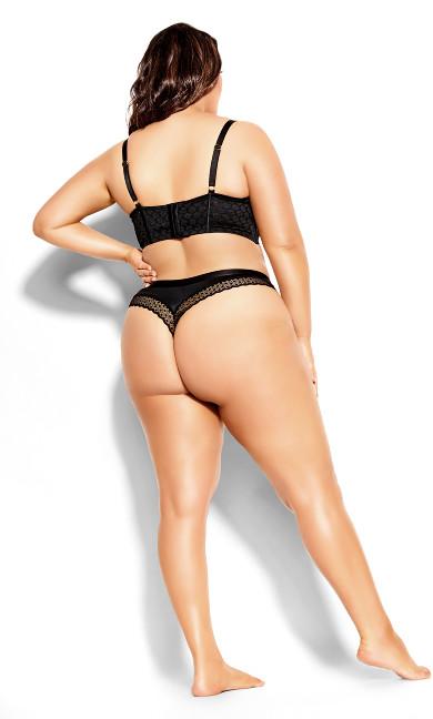 Krista Longline Contour Bra - black