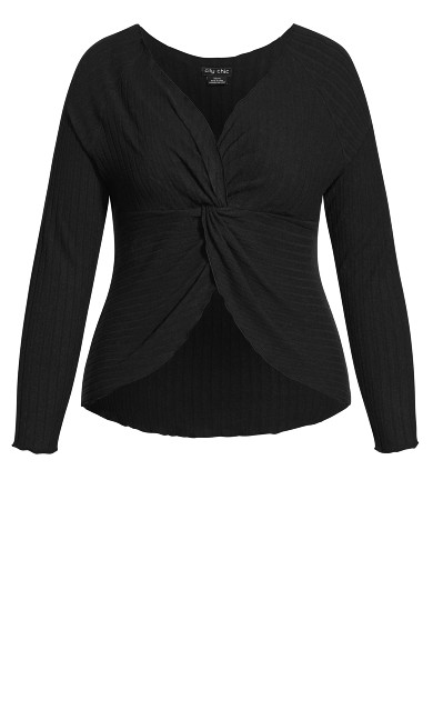 Ella Sleep Top - black