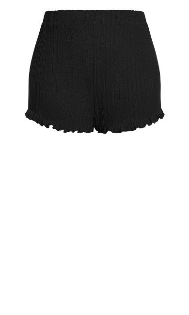 Ella Sleep Short - black
