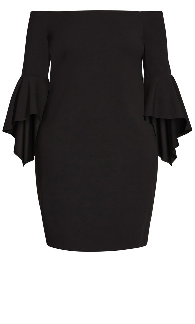 Francesca Dress - black