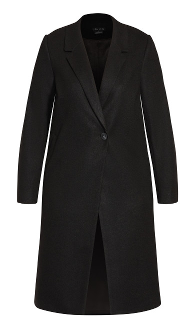 Effortless Chic Coat - black