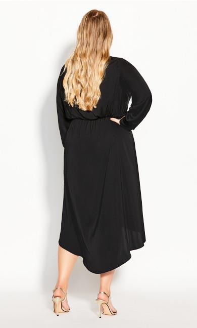Sexy Sleek Dress - black