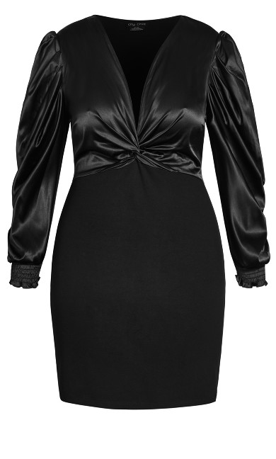 Affluent Dress - black
