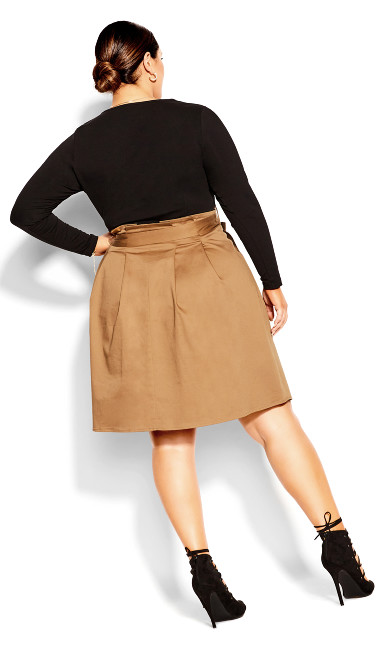 Uptown Girl Dress - beige
