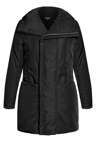 Puff Vibes Jacket - black