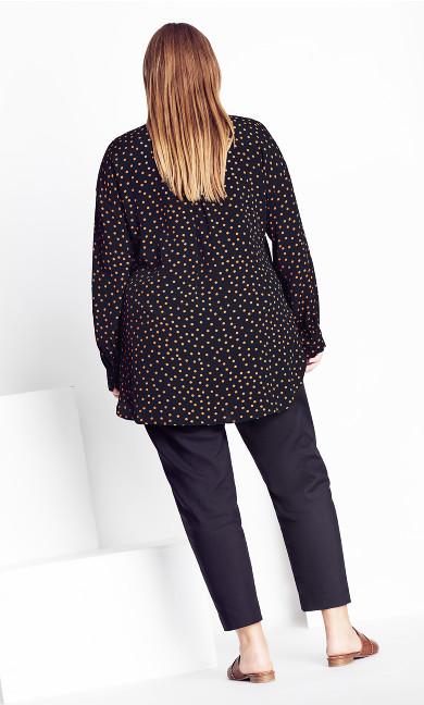 Mini Spot Shirt - black