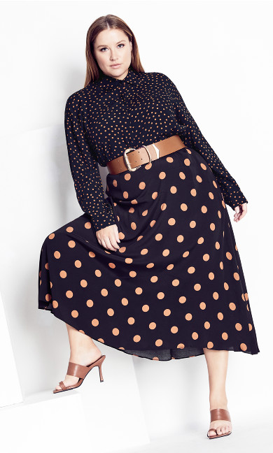 Fudge Spot Skirt - fudge